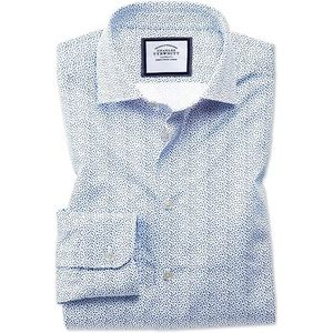 Charles Tyrwhitt White & Blue Shirt
